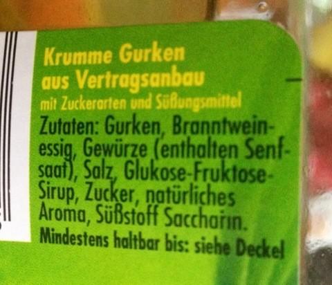 Diät-Gurken
