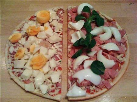 Rezept für eine Low Carb Pizza zum Abnehmen