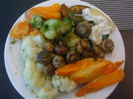 Unterwegs essen und abnehmen mit Low Carb und Gemüse