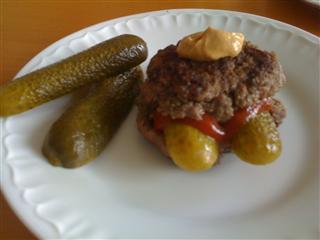 """Low Carb Rezept: Mein """"Low Carb Burger"""" zum Abendessen!"""