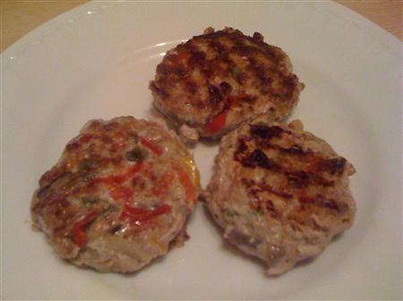 Rezept Low Carb: Hackfleisch-Gemüseburger