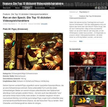 """Fundstück oder Motivation? """"Die Top 10 der dicksten Videospielcharaktere"""""""