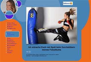 Moderiert The Biggest Loser in Deutschland - Christine Theiss
