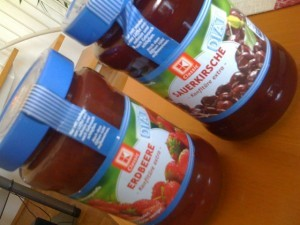 marmelade fruehstueck konfituere
