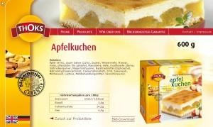 rezepte diaet apfelkuchen